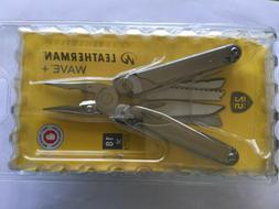 NEW - Leatherman Wave+ 832532 18-in-1 Multi Tool Pliers w/Sh