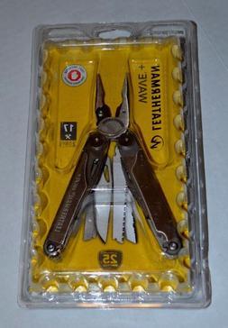 NEW! Leatherman Wave Plus+ Multi-Tool, Premium Sheath 17 Too