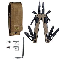 Leatherman OHT Coyote Tan 16-Multi-Tool + Sheath + Wire Cutt
