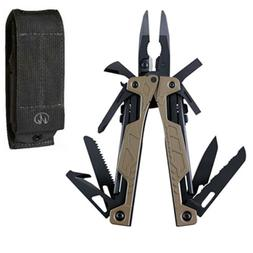LEATHERMAN - OHT Multitool, Coyote Tan with MOLLE Black Shea