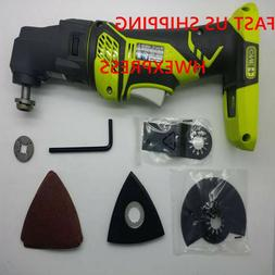 Ryobi   ONE+ P340 18-Volt JobPlus Base with Multi-tool Attac