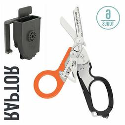 LEATHERMAN - Raptor Shears, Black-Orange with MOLLE Compatib
