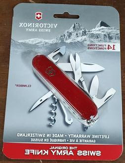 Victorinox Original Swiss Army Climber Pocket Knife  FREE SH