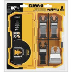 DEWALT Universal Fitment Oscillating Tool 5-Piece Blade Set