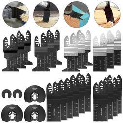 10 PCS 34mm oscillating Multi tool saw blades Carbon Steel C