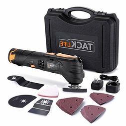 Oscillating Tool Kit Set Cordless Multi-Tool with LED 23pcs