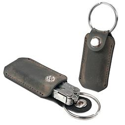 TUFF LUV 'Western' Genuine Leather Case Pocket Clip for Leat