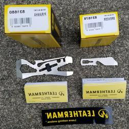 Leatherman Piranha 2 and Brewzer Pocket Multi-Purpose Tools