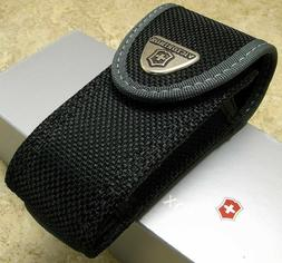 Victorinox 33247 Medium Pocketknife Belt Pouch - Nylon - Bla