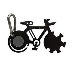 Pocket Multitool, Kamesite 10 in 1 Card Bicycle Multitool Ca