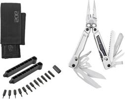 SOG Powerplay Stainless Folding Knife Pliers Multi-Tool w/ H