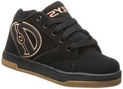 Heelys Propel Skate Shoe ,Black/Purple,4 M US Big Kid