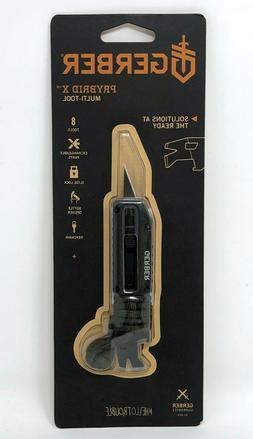 Gerber Prybrid X Multi-Tool w/ 8 Tools Stainless Steel, Gree