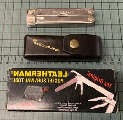 LEATHERMAN PST The Original Multi-Tool Pocket Survival 12 Es