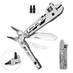 All-Purpose 10-in-1 Function Multi-tool with Belt Clip | Adj