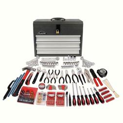 300-Piece all Purpose Mechanics Tool Kit in Heavy Duty 3-Dra