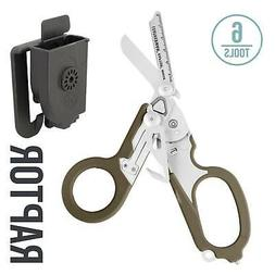 LEATHERMAN - Raptor Shears, Tan with MOLLE Compatible Holste