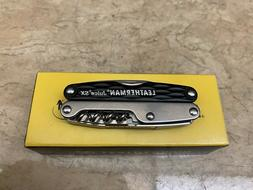 Rare Retired Leatherman Juice SX Black Surf Multi-Tool NEW I
