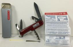 Victorinox Red Swiss Army Knife Officer Suisse 8 Multi Tools