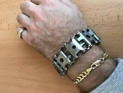 SALE multi-functional multitool bracelet as a LEATHERMAN TRE