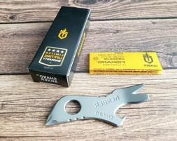 Gerber SHARD Keychain EDC Multi-tool 7-in-1 SILVER TSA Frien