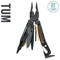 LEATHERMAN - MUT Multitool, Black with MOLLE Brown Sheath