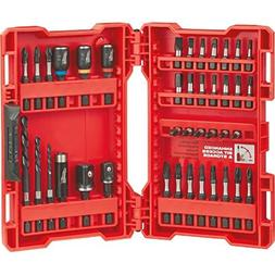 Shockwave Bit Set 40 Piece Milwaukee Screwdriver Bit Sets 48