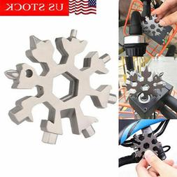 Snowflake 18-in-1 Multi-tool portable Stainless Household Ha