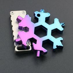 Snowflake Multi-Tool Snow Flake 18-1 Steel Shape Flat Cross