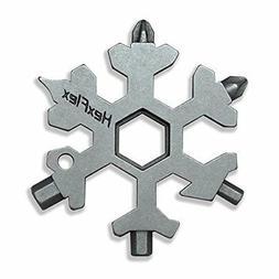 Hexflex Snowflake Multi-tool STANDARD METRIC TITANIUM Standa