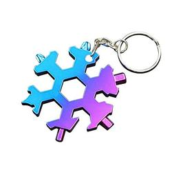 Yunhigh Snowflakes Multi Tool Card Stainless Steel Gadget 19
