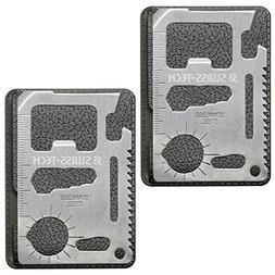Swiss+Tech ST33398M2 Credit Card Multi-Tool M2