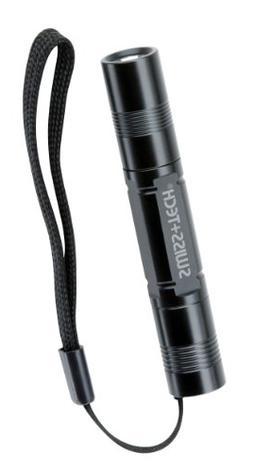 Swiss+Tech ST50069 Black Pocket LED Flashlight with Lanyard