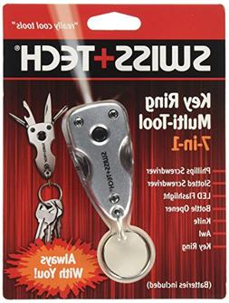 Swiss+Tech ST60300M2 Key Ring Multitools  with LED Flashligh