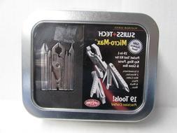 SWISS+TECH Stainless Steel MICRO-MAX Xi 19 In 1 Multi-Tool P