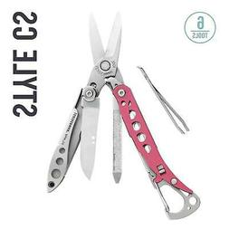 LEATHERMAN - Style CS Multitool w Spring-Action Scissors & G
