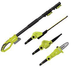 Sun Joe GTS4001C 24-Volt Cordless Lawn Care System Hedge Tri