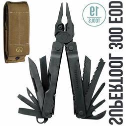Leatherman - Super Tool 300 EOD Multi-Tool, Black with Molle