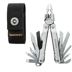 LEATHERMAN - Super Tool 300 Multitool, Stainless Steel with
