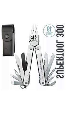 Super Tool 300 Multi-tool with Leather Sheath