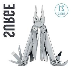 LEATHERMAN - Surge Multitool, Stainless Steel with Premium N