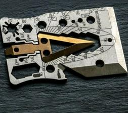 Survival multi tool card,