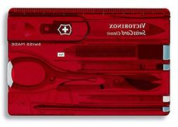 Victorinox Swiss Army Swiss Card, Translucent Ruby