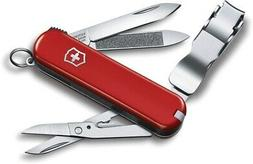 Victorinox Swiss Army Nailclip 580 Pocket Knife w Nail Clipp