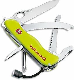 Victorinox Swiss Army Rescue Tool Pocket Knife with Pouch, F