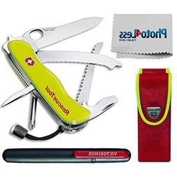 Victorinox Swiss Army Rescue Tool Pocket Knife with Pouch +