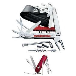 Victorinox Swiss Army SwissTool CS Plus Knife/Pouch with Swi