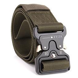 PONIXA Outdoor Tactical Belts 49 inch for Men