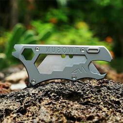 TC4 Titanium Multi Tools Utility Knife Key Chains EDC Opener