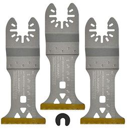 ACTOMASTER Titanium Coated Bi-Metal Oscillating Saw Blade fo